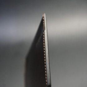 セドウィック社製ブライドルレザーのチョコ色のカードケース-1-5