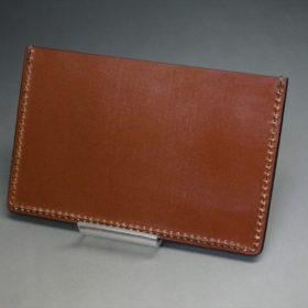 セドウィック社製ブライドルレザーのヘーゼルブラウン色のカードケース-1-4