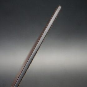 セドウィック社製ブライドルレザーのヘーゼルブラウン色のカードケース-1-5