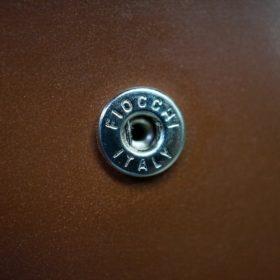 セドウィック社製ブライドルレザーのヘーゼルブラウン色の二つ折り財布(シルバー色)-1-11