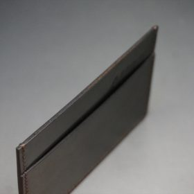 ホーウィン社製シェルコードバンの#8色のカードケース-1-6