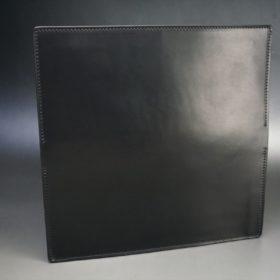 レーデルオガワ社製オイル仕上げコードバンのブラック色の長財布(小銭入れなしタイプ)-1-5