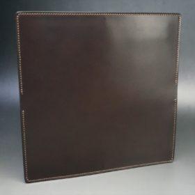 レーデルオガワ社製オイル仕上げコードバンのバーガンディ色の長財布(小銭入れなしタイプ)-1-5