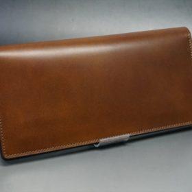 レーデルオガワ社製オイル仕上げコードバンの長財布(ゴールド色)-1-2