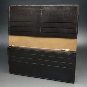 レーデルオガワ社製オイル仕上げコードバンの長財布(ゴールド色)-1-6