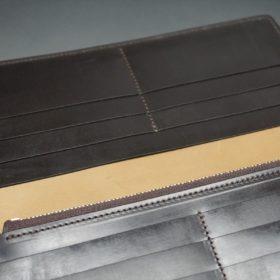 レーデルオガワ社製オイル仕上げコードバンの長財布(ゴールド色)-1-7