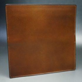 レーデルオガワ社製オイル仕上げコードバンのコーヒーブラウン色の長財布(小銭入れなしタイプ)-1-5