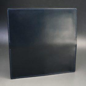 レーデルオガワ社製オイル仕上げコードバンのネイビー色の長財布(小銭入れなしタイプ)-1-5