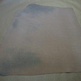 セドウィック社製ブライドルレザーのネイビー色の1.0mm厚-1-3