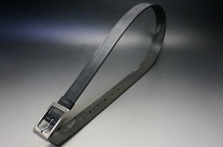 クレイトン社製ブライドルレザーのブラック色のベルト(30mm/cs/sサイズ)-1-1