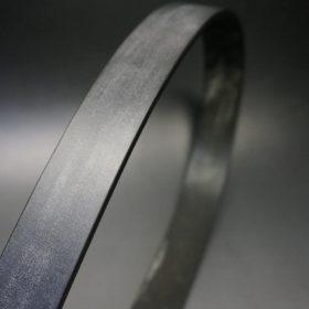 クレイトン社製ブライドルレザーのブラック色のベルト(30mm/cs/sサイズ)-1-3