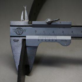 クレイトン社製ブライドルレザーのブラック色のベルト(30mm/cs/sサイズ)-1-8