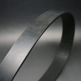 クレイトン社製ブライドルレザーのブラック色のベルト(35mm/cs/lサイズ)-1-3
