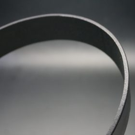 クレイトン社製ブライドルレザーのブラック色のベルト(35mm/cs/lサイズ)-1-4
