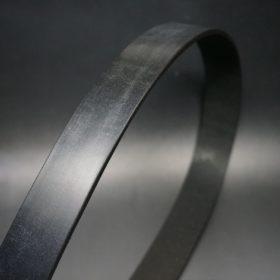 クレイトン社製ブライドルレザーのブラック色のベルト(35mm/cs/mサイズ)-1-3