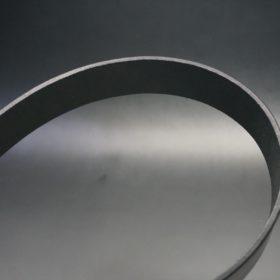 クレイトン社製ブライドルレザーのブラック色のベルト(35mm/cs/mサイズ)-1-4
