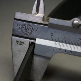 クレイトン社製ブライドルレザーのブラック色のベルト(35mm/cs/mサイズ)-1-9