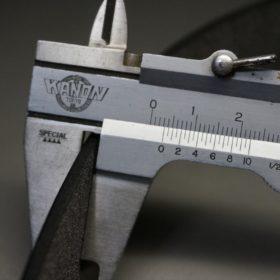 クレイトン社製ブライドルレザーのダークブラウン色のベルト(30mm/cg/sサイズ)-1-10