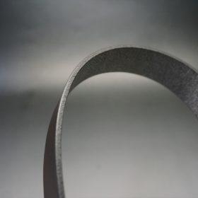 クレイトン社製ブライドルレザーのダークブラウン色のベルト(30mm/cg/sサイズ)-1-4
