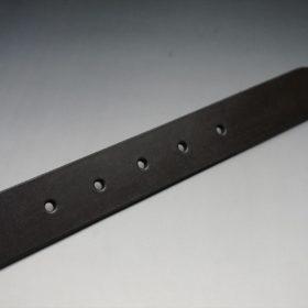 クレイトン社製ブライドルレザーのダークブラウン色のベルト(30mm/cg/sサイズ)-1-9