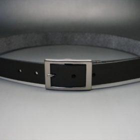 クレイトン社製ブライドルレザーのダークブラウン色のベルト(30mm/cs/sサイズ)-1-10