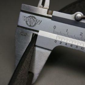 クレイトン社製ブライドルレザーのダークブラウン色のベルト(30mm/cs/sサイズ)-1-9