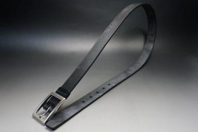 グレードレザー社製ブライドルレザーのブラック色のベルト(30mm/cs/lサイズ)-1-1