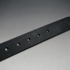 グレードレザー社製ブライドルレザーのブラック色のベルト(30mm/cs/lサイズ)-1-8