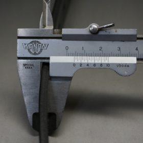 グレードレザー社製ブライドルレザーのブラック色のベルト(30mm/cs/lサイズ)-1-9