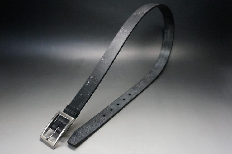 グレードレザー社製ブライドルレザーのブラック色のベルト(30mm/cs/mサイズ)-1-1