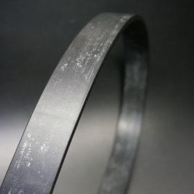 グレードレザー社製ブライドルレザーのブラック色のベルト(30mm/cs/mサイズ)-1-3