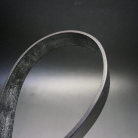 グレードレザー社製ブライドルレザーのブラック色のベルト(30mm/cs/mサイズ)-1-4