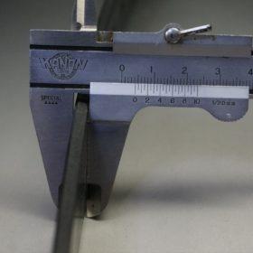 グレードレザー社製ブライドルレザーのブラック色のベルト(30mm/cs/mサイズ)-1-9