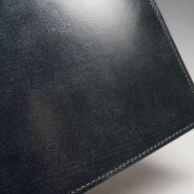 セドウィック社製ブライドルレザーのブラック色のA6判手帳カバー(10mm用)-1-3