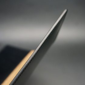 セドウィック社製ブライドルレザーのブラック色のA6判手帳カバー(10mm用)-1-5