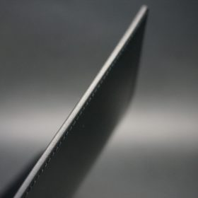 セドウィック社製ブライドルレザーのブラック色のA6判手帳カバー(15mm用)-1-5