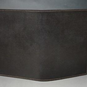 セドウィック社製ブライドルレザーのチョコ色のA6判手帳カバー(10mm用 )-1-2
