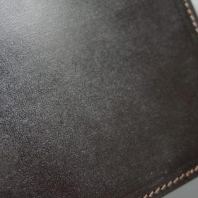 セドウィック社製ブライドルレザーのチョコ色のA6判手帳カバー(10mm用 )-1-3
