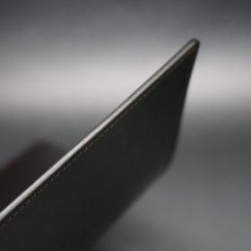 セドウィック社製ブライドルレザーのチョコ色のA6判手帳カバー(10mm用 )-1-5