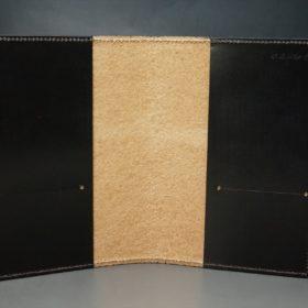 セドウィック社製ブライドルレザーのチョコ色のA6判手帳カバー(10mm用 )-1-6