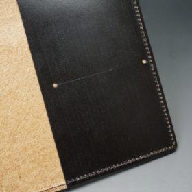 セドウィック社製ブライドルレザーのチョコ色のA6判手帳カバー(10mm用 )-1-9