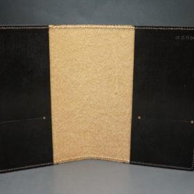 セドウィック社製ブライドルレザーのチョコ色のA6判手帳カバー(15mm用)-1-6
