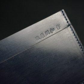 セドウィック社製ブライドルレザーのネイビー色のカードケース-1-8