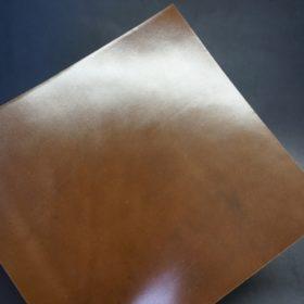 ホーウィン社製シェルコードバンのバーボン色のスタンプ側のラウンドファスナー長財布(ゴールド色)-1-18