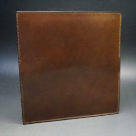 ロカド社製オイルコードバンのブラウン色のスタンダード長財布(ゴールド色)-1-6