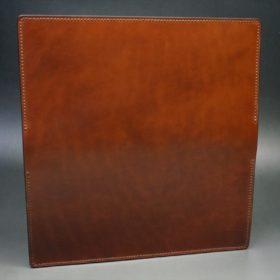 新喜皮革社製オイル仕上げコードバンのアンティーク色のスタンダード長財布(ゴールド色)-1-8