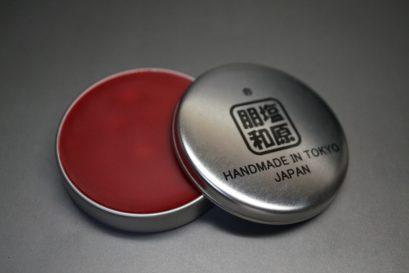蜜蝋ワックスの染料タイプのレッド色-1-1