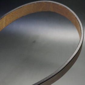 J.ベイカー社製ブライドルレザーのダークブラウン色の30mmベルト(ビジネスバックル/ゴールド色/M)-1-11