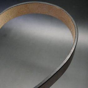J.ベイカー社製ブライドルレザーのダークブラウン色の30mmベルト(カジュアルバックル/ゴールド色/M)-1-11