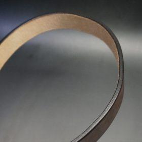 J.ベイカー社製ブライドルレザーのダークブラウン色の30mmベルト(カジュアルバックル/シルバー色/S)-1-11